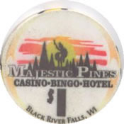 Majestic pine casino black river falls wi casino center at bonneville las vegas