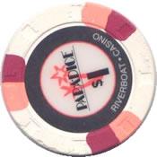 casino para dice est proria IL 1$ chip rev