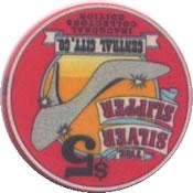 casino the silver slipper central city $5 chip1 rev