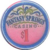 fantasy spring indio CA $1 chip anv