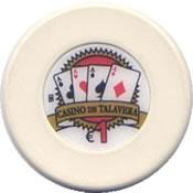 casino de talavera de la reina 1 € chip anv