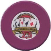 casino de talavera de la reina 2,5 € chip rev