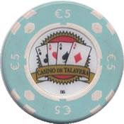 casino de talavera de la reina 5 € chip rev