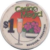 casino magic neuquen $1 chip anv