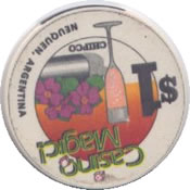 casino magic neuquen $1 chip rev