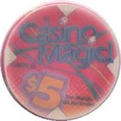 casino magic san martin de los andes $5 chip anv