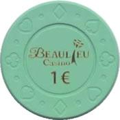 casino beaulieu 1 € chip anv