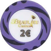 casino beaulieu 2 € chip anv