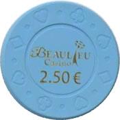 casino beaulieu 2,5 € chip anv