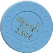 casino beaulieu 2,5 € chip rev