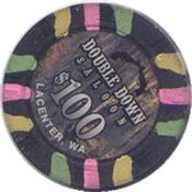 casino double down lacenter wa $ 100 chip rev