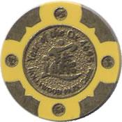 casino hollywood Park $5 chip anv