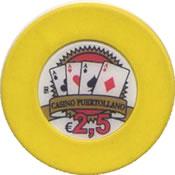 casino puertollano ciudad real 2,5 € chip rev