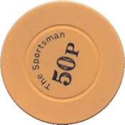 casino the sportman 50 p chip rev