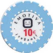 gran casino magna ciudad real grp emotiva 10 € chip rev