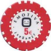 gran casino magna ciudad real grp emotiva 5 € chip anv