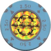 casino golden palace batumi 2,50 chip rev