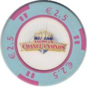 casinos american chance € 2,5 chip rev